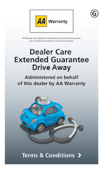 AA Warranty Drive Away